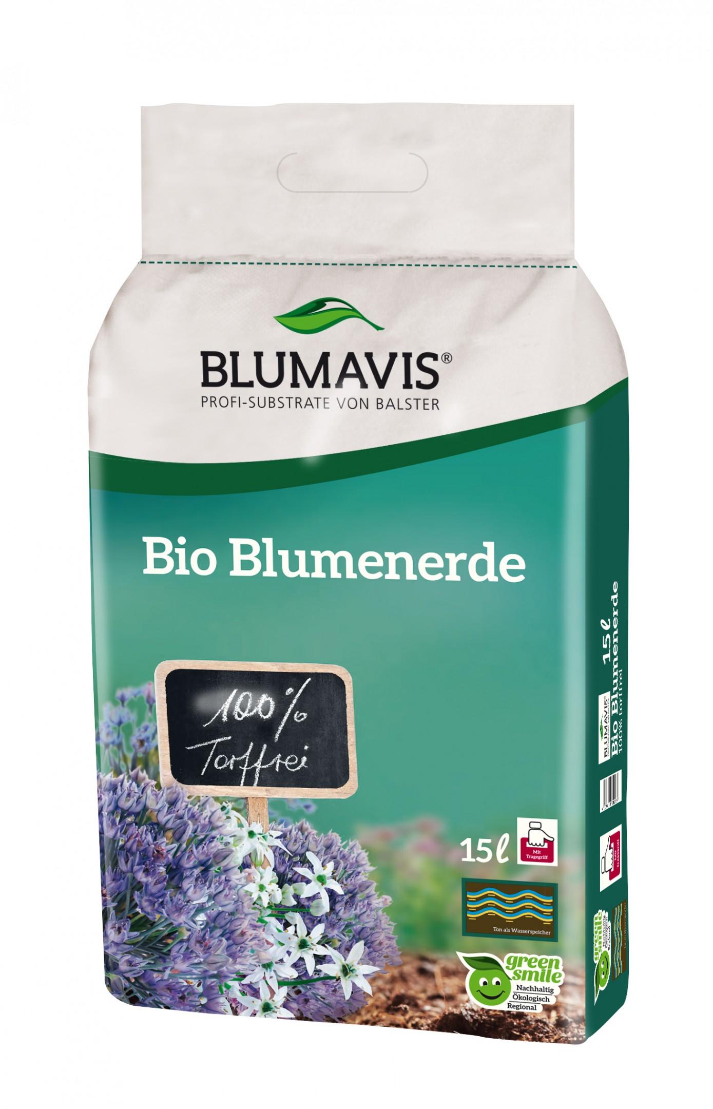 Bio Blumenerde 100% torffrei Bild 1