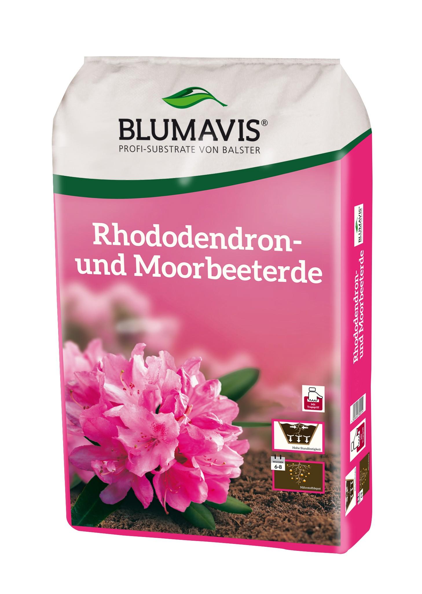 Rhododendron- und Moorbeeterde Bild 1