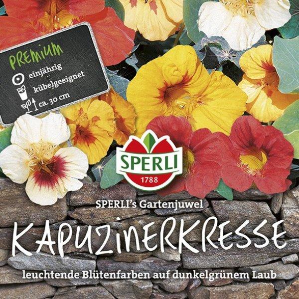 Kapuzinerkresse SPERLI's Gartenjuwel Bild 1