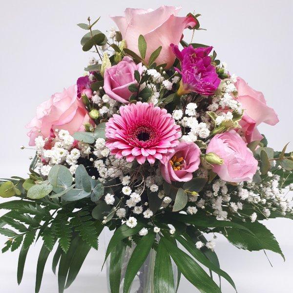"""Blumenstrauß """" Pretty in Pink"""" Bild 1"""