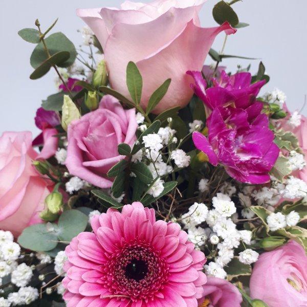 """Blumenstrauß """" Pretty in Pink"""" Bild 2"""