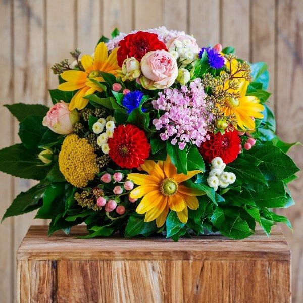 Blumenstrauß in Bunt Bild 1