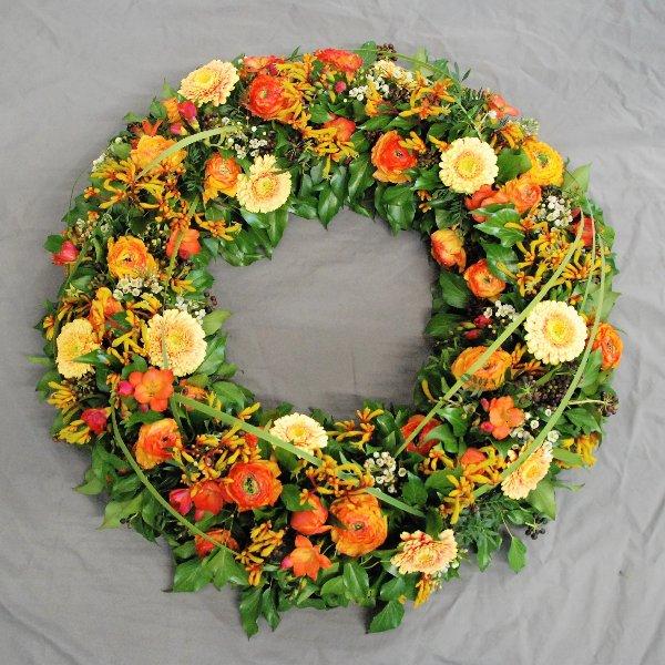 oranger Frühling Bild 1