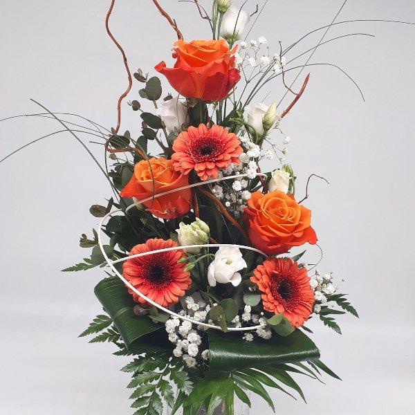 """Blumenstrauß """" Cool Orange"""" Bild 1"""