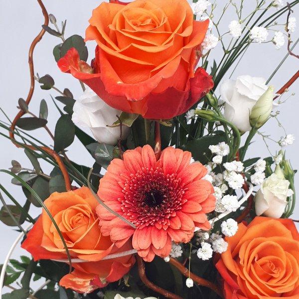 """Blumenstrauß """" Cool Orange"""" Bild 2"""