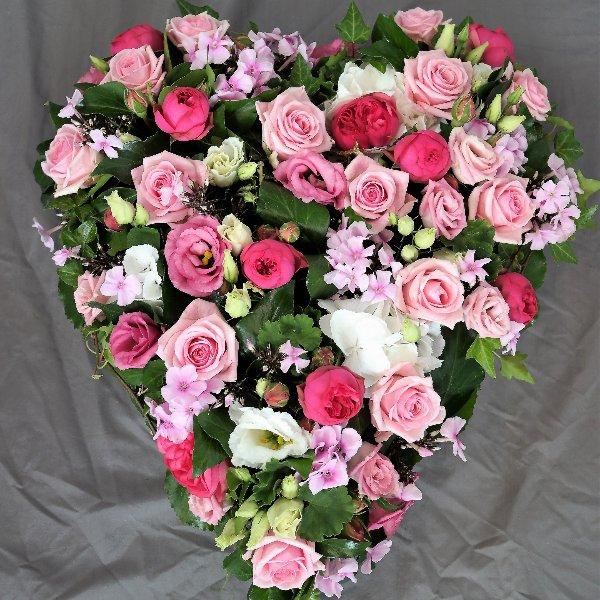 Herz in rosa Bild 1