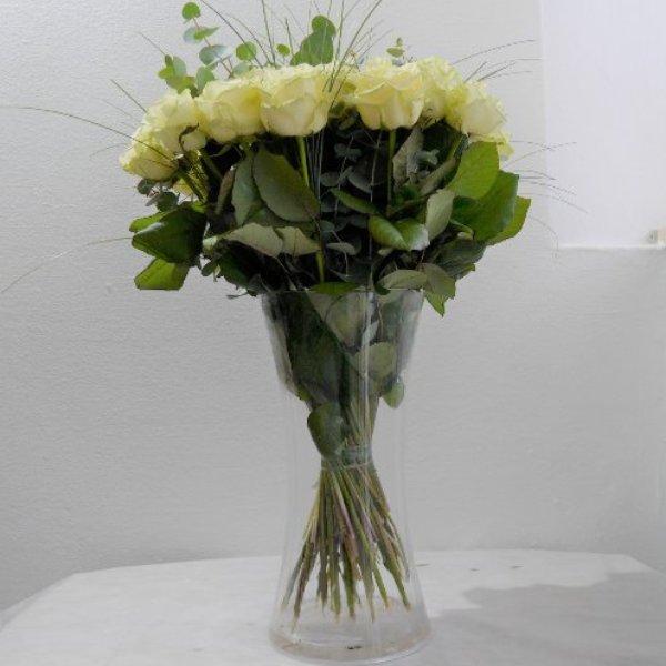 Premium Rose Amelie creme XL Bild 2