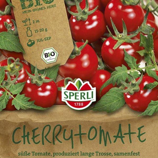 BIO Tomate Zuckertraube Bild 1