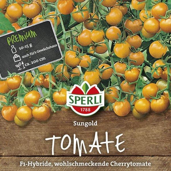 Cherry-Tomate Sungold, F1 Bild 1