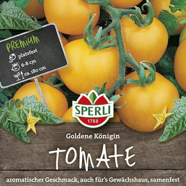 Tomaten Goldene Königin Bild 1