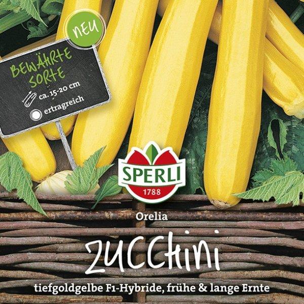 Zucchini Orelia, F1 Bild 1
