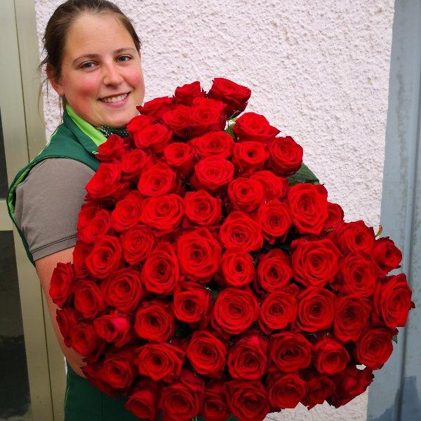 Premium Rose Red Naomi XL Bild 2