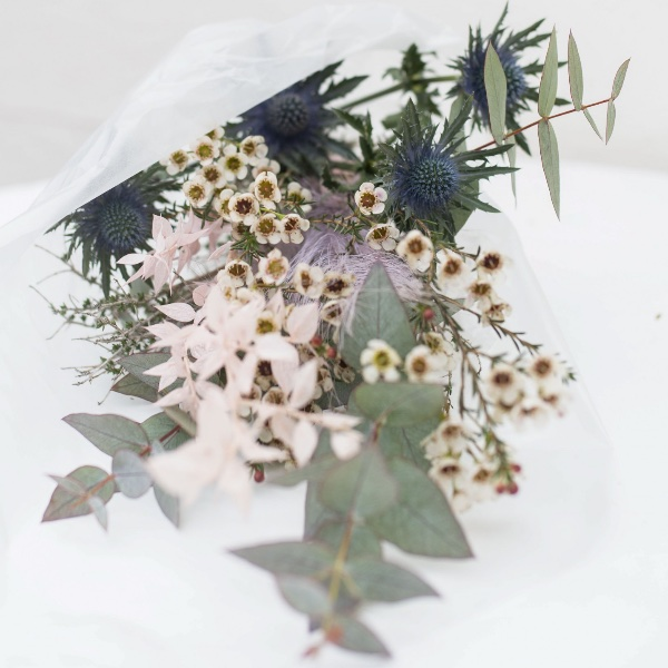 Driedflower-Strauß Rosa Bild 1