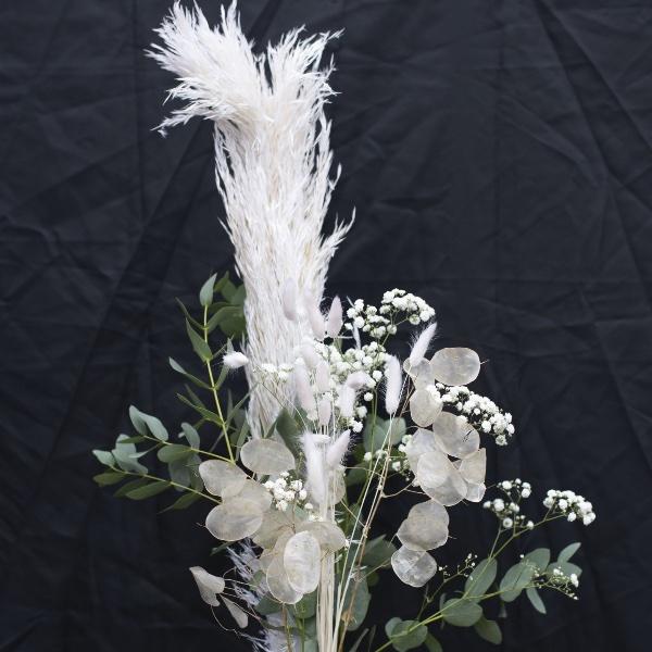 Driedflower-Strauß Weiß Bild 1