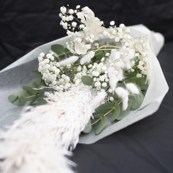 Driedflower-Strauß Weiß Bild 2