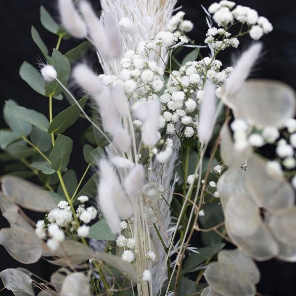 Driedflower-Strauß Weiß Bild 3