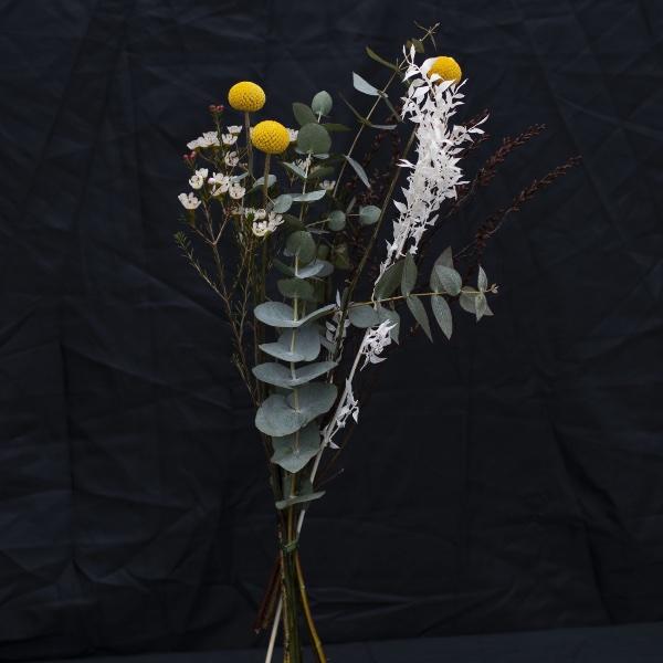 Driedflower-Strauß Gelb Bild 1