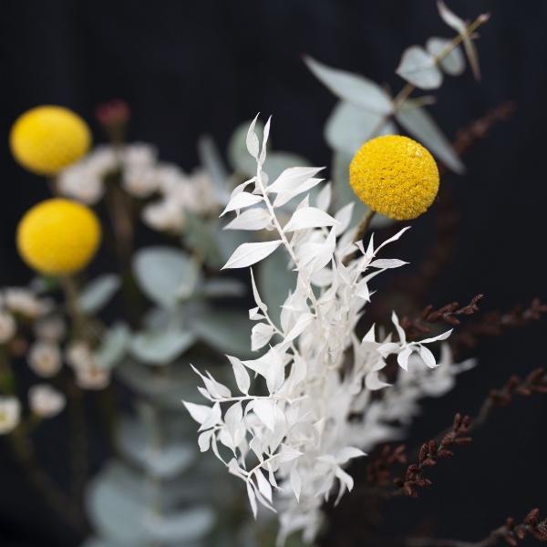 Driedflower-Strauß Gelb Bild 3