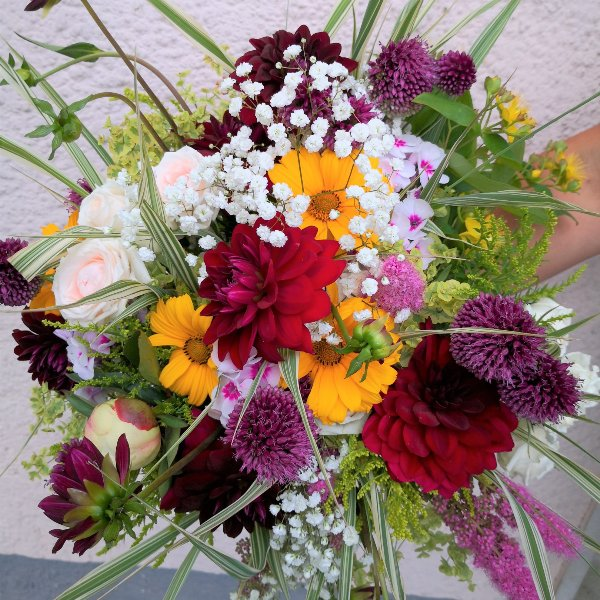 Sommer- Wildblumen Bild 1