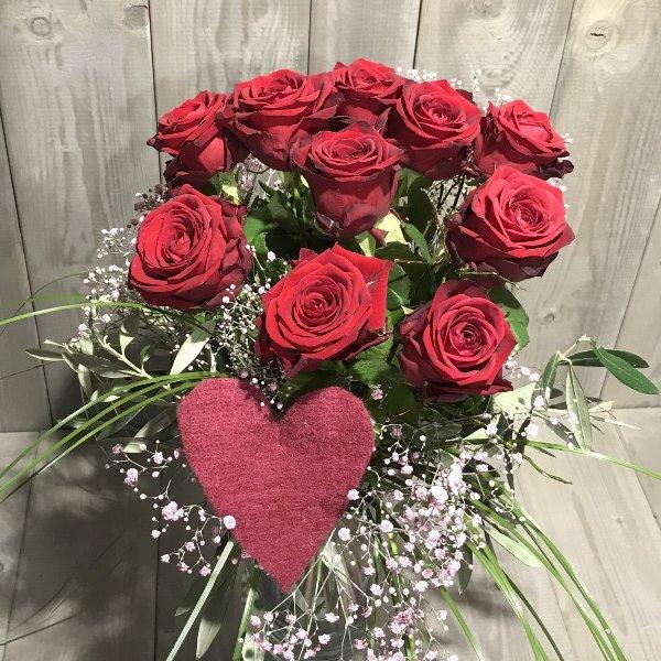 """Blumenstrauß  """"Ich liebe Dich"""" Bild 1"""