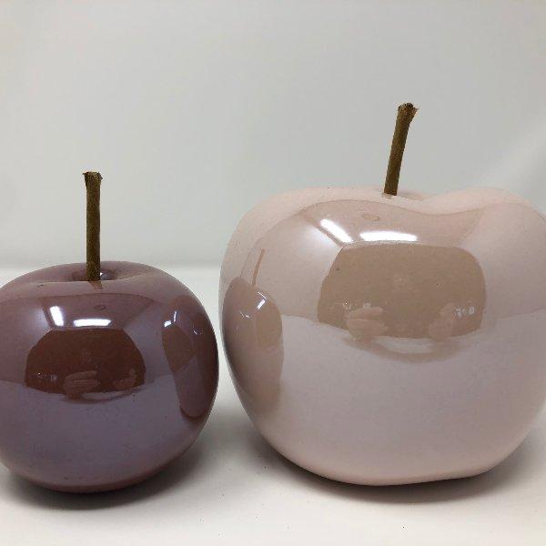 Dekoapfel aus Keramik im Set Bild 1