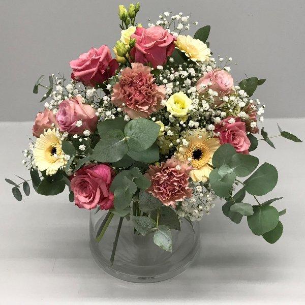 Blumenstrauß Biedermaier Bild 1