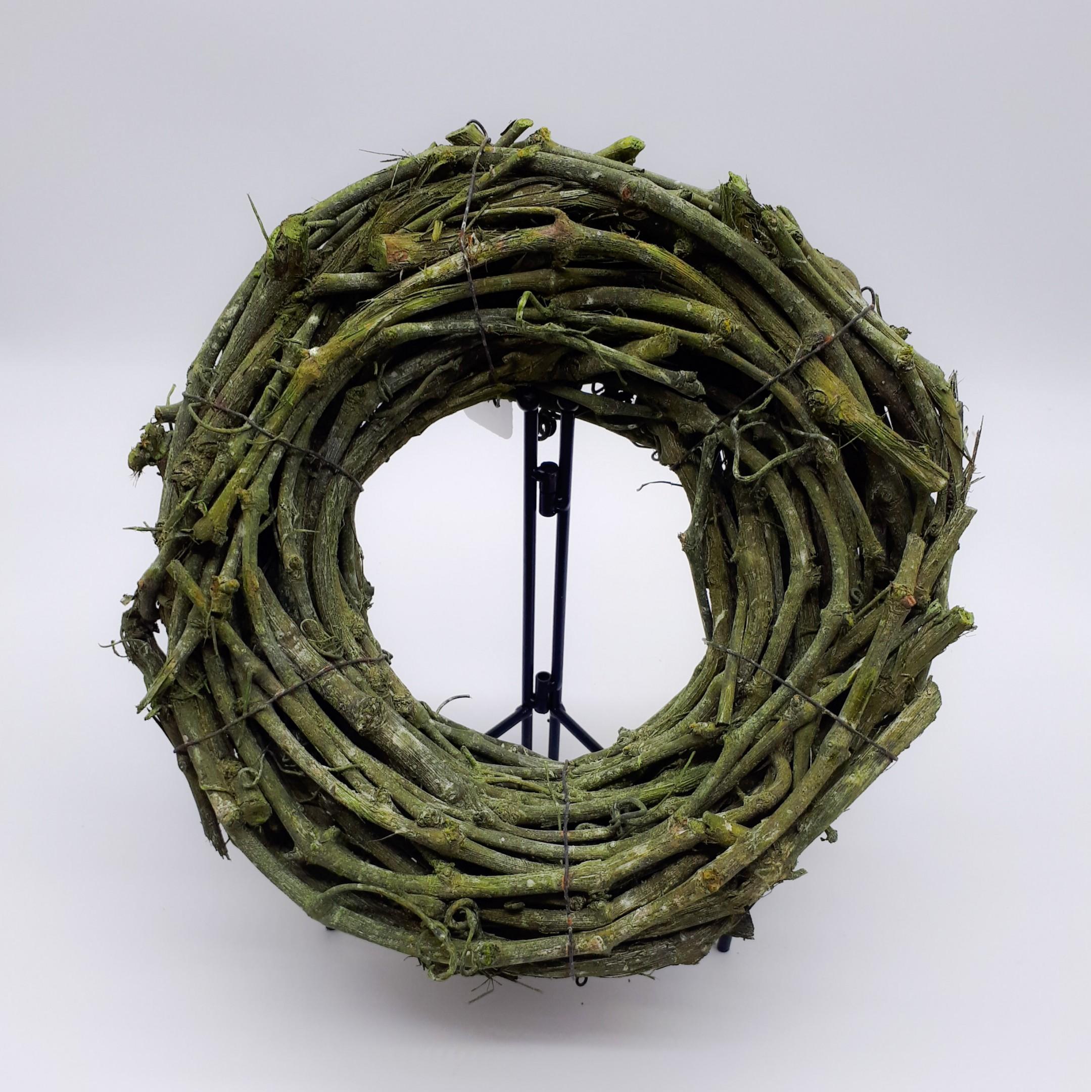 Rebkranz trocken olivgrün Bild 1