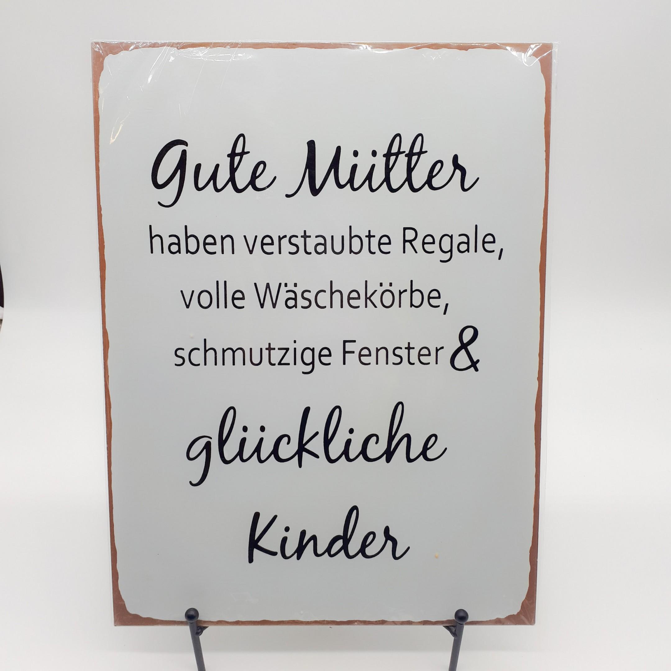"""Blechschild """"Gute Mütter"""" Bild 1"""