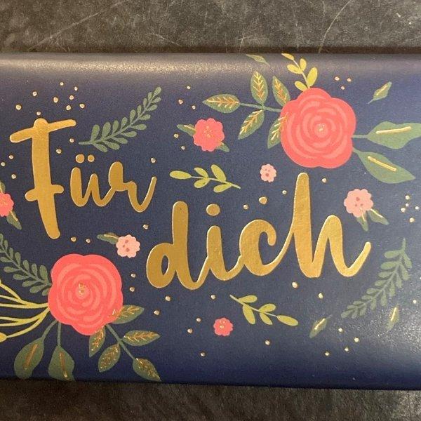 """Schokolade """"Für Dich"""" Bild 1"""