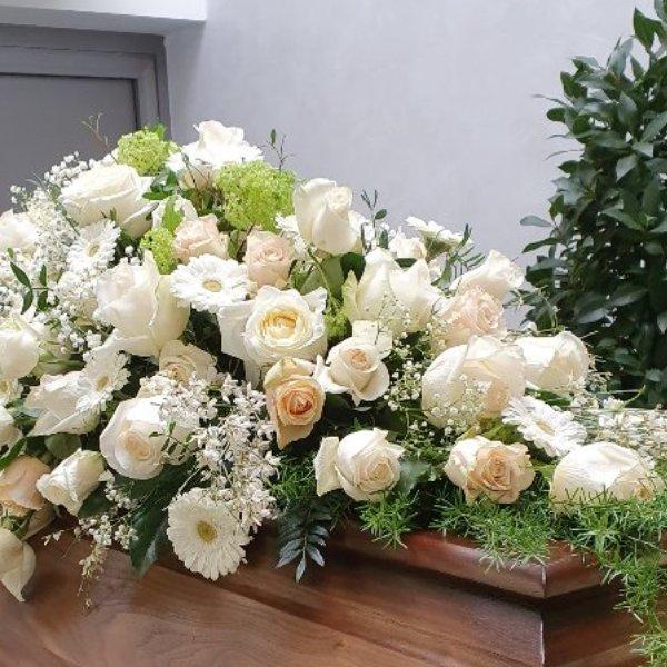 Weiße Blütenfülle Bild 1