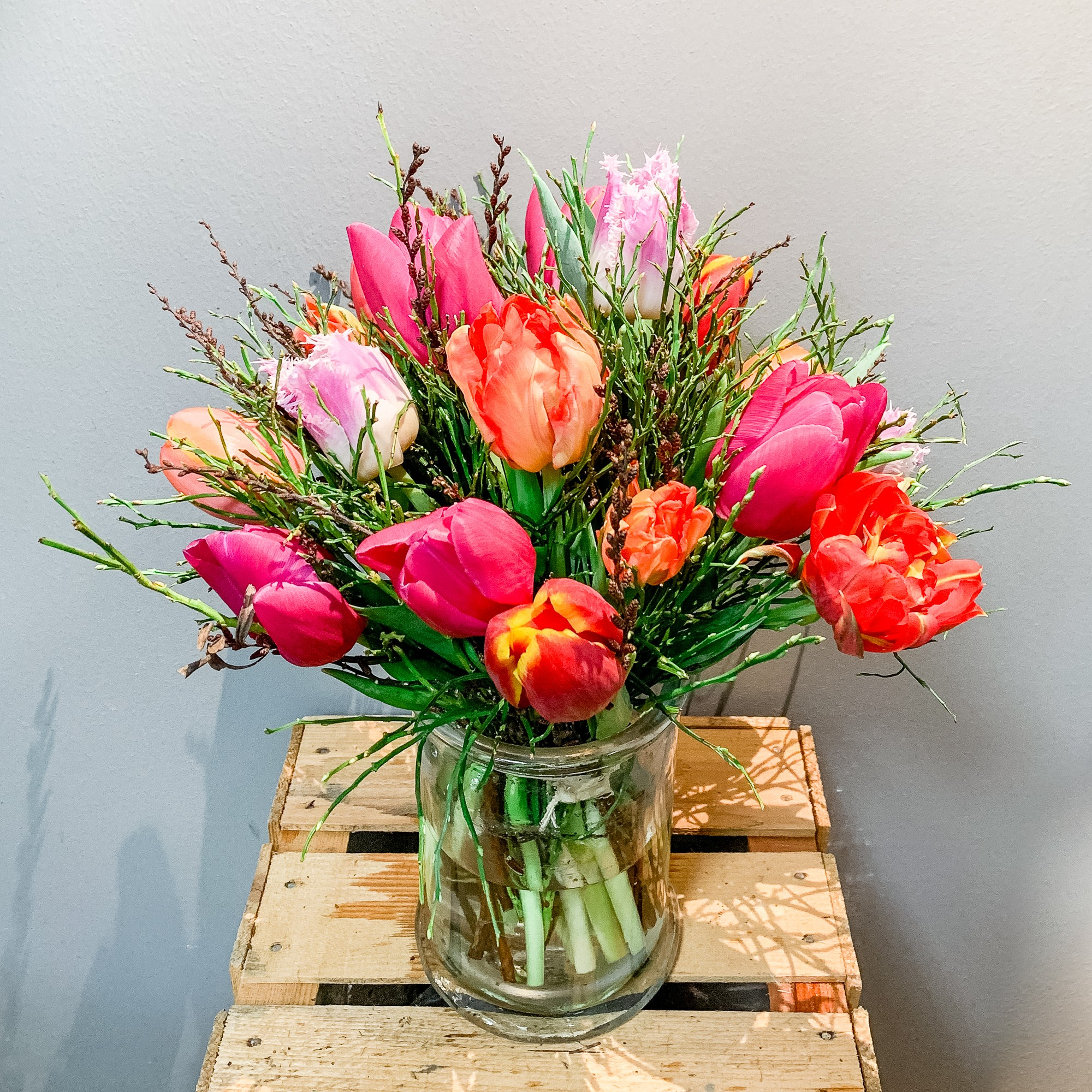 Tulpen Strauß Bild 1