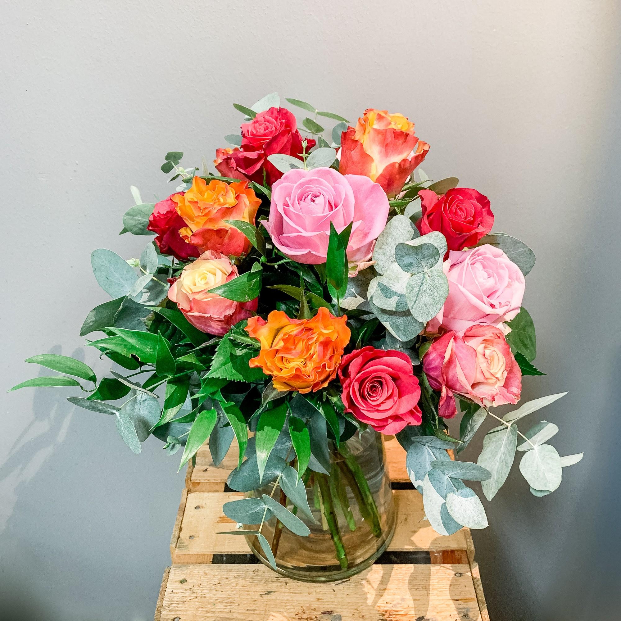 Rosen Strauß Bild 1