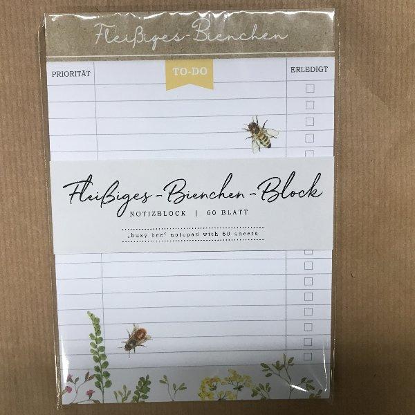 Fleißiges-Bienchen-Block Bild 1
