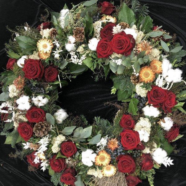 """Blütenkranz  """"In stillem Gedenken"""" Bild 1"""
