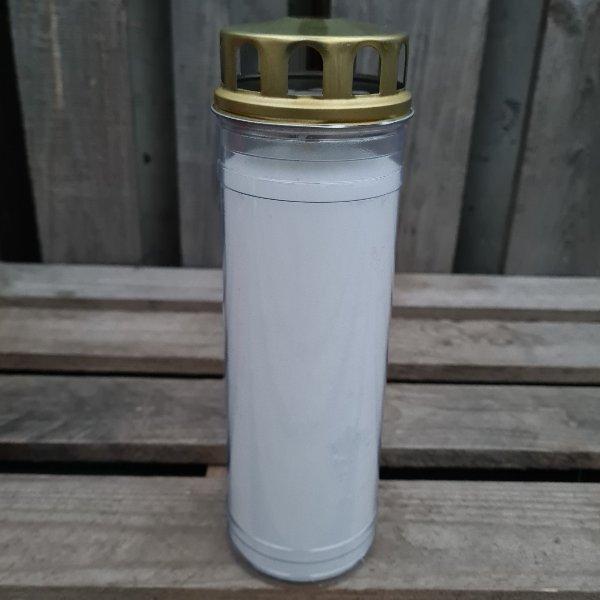 Grabkerze Ewiglicht mit Thermo-Doppeldeckel Bild 2