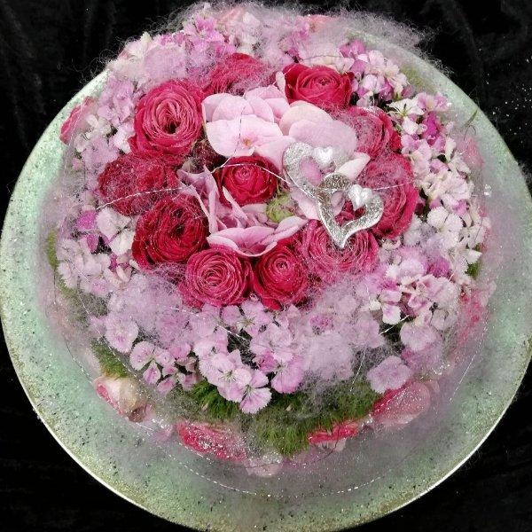 Blumentorte G052 Bild 1