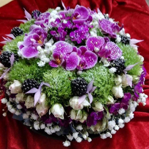 Blumentorte G053 Bild 1