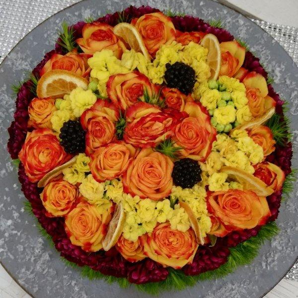 Blumentorte G054 Bild 1