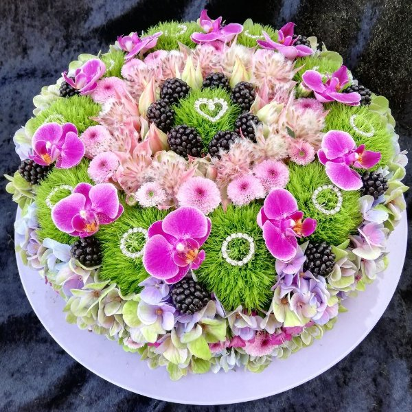 Blumentorte G056 Bild 1