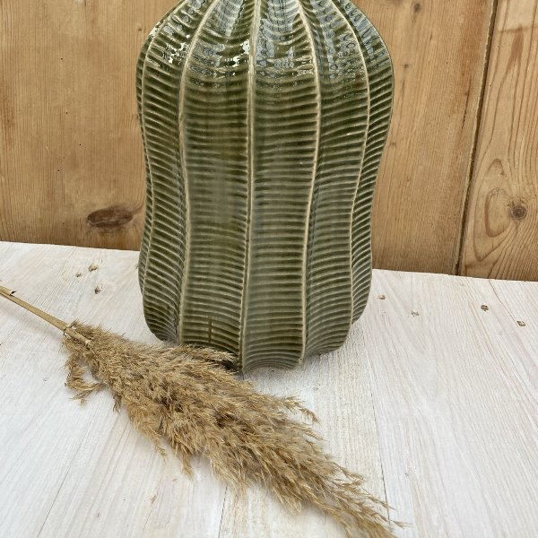 Vase mit Struktur Bild 3