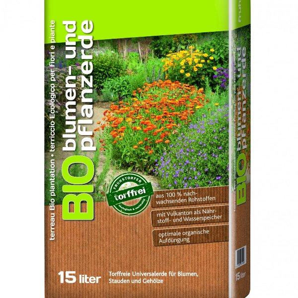 BIO blumen- und Pflanzerde Bild 1
