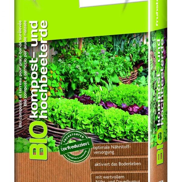 Bio-Kompost & Hochbeeterde Bild 1