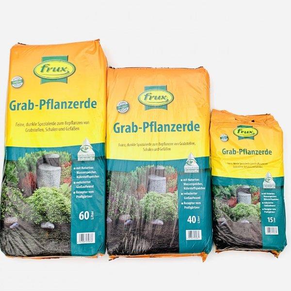 Grabpflanzerde von frux im 15l ,40l, 60l Beutel Bild 1
