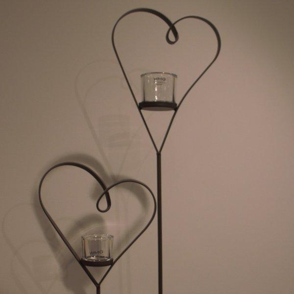 Herz mit Glasgefäß Bild 1