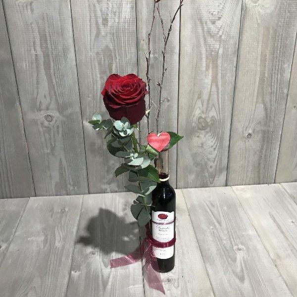 Duftende Heimat Likör Gourmet Berner mit Rose Bild 1