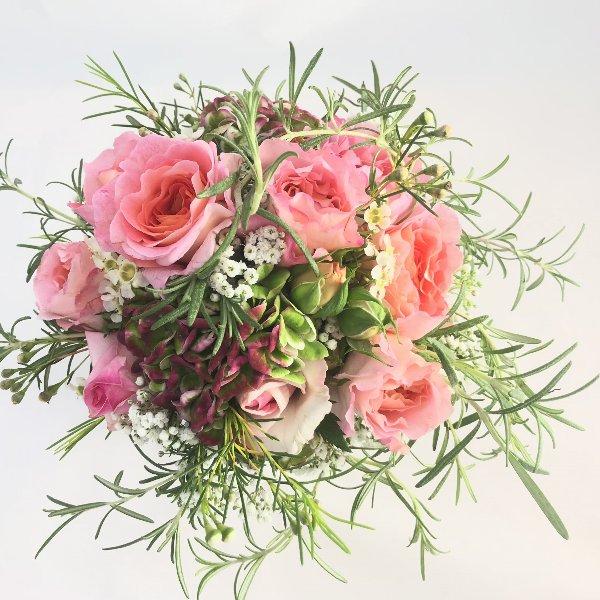 Strauß rosa Bild 3