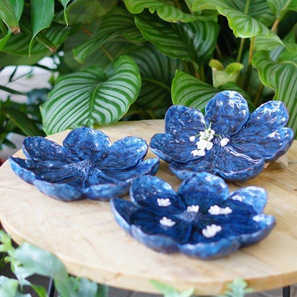 dekorative Blüte blau Bild 2