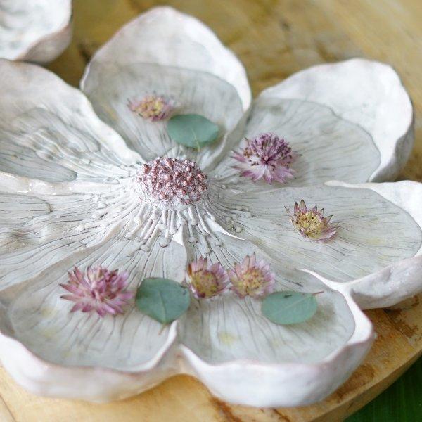 dekorative Blüte weiß Bild 3