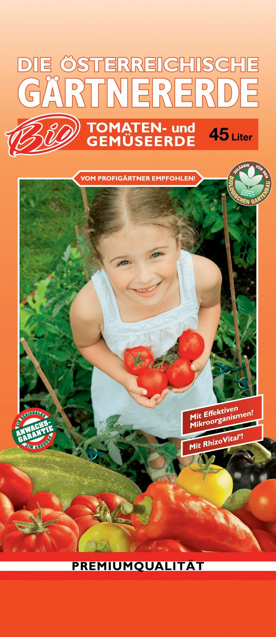 Bio Tomaten- und Gemüseerde 45l Bild 1