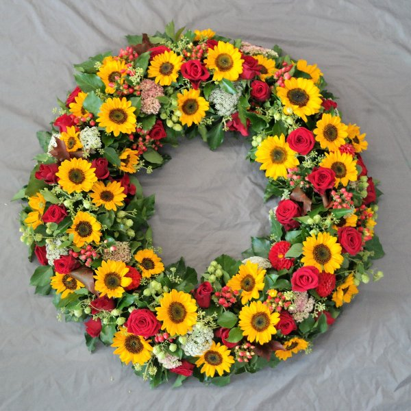 Sommerkranz Sonnenblume Bild 1